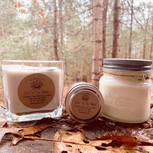The Happy Lotus Hike in the Woods Candle