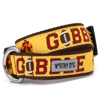 The Worthy Dog Gobble Gobble Collar