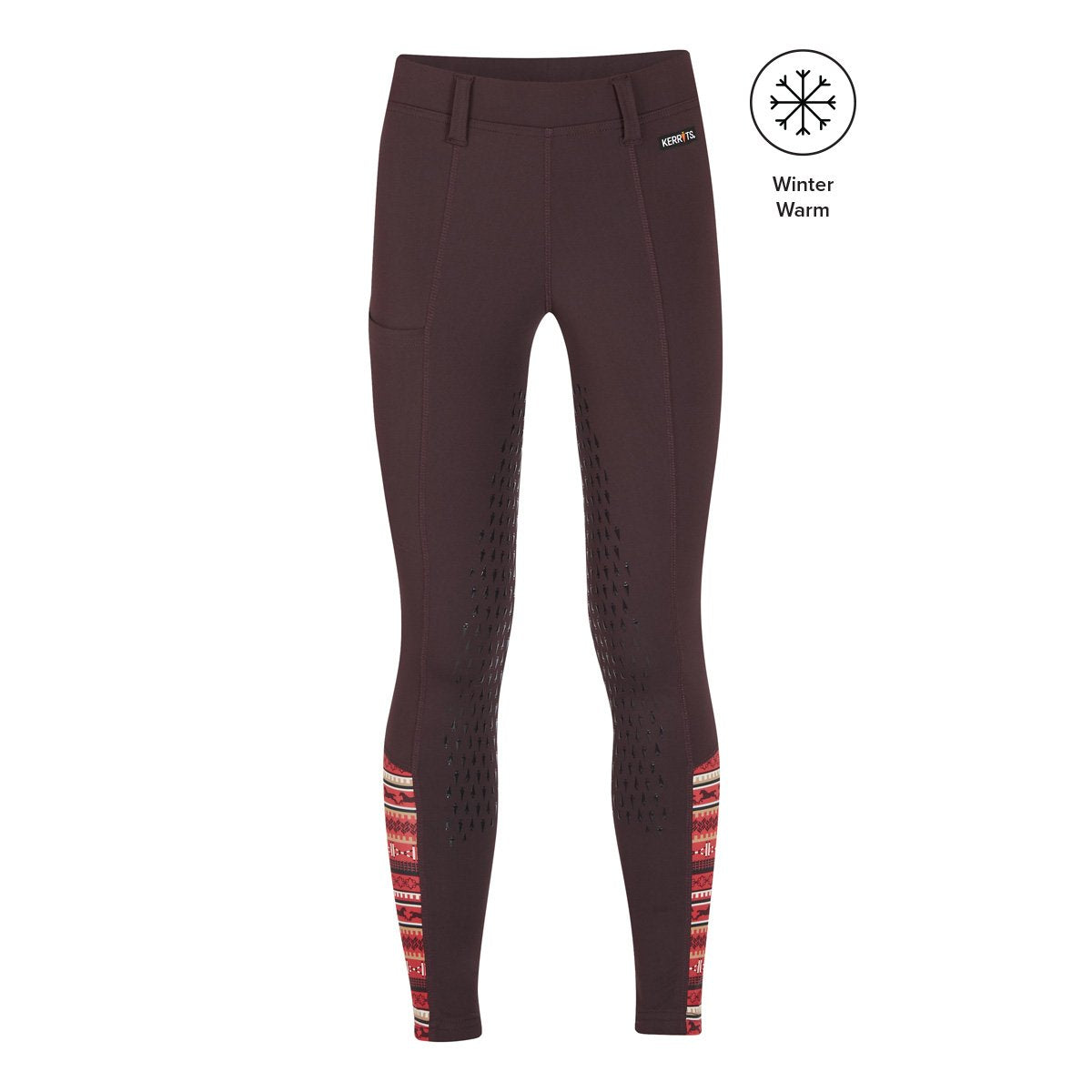 Kerrits Kids Thermo Tech Full Leg Tight Fig