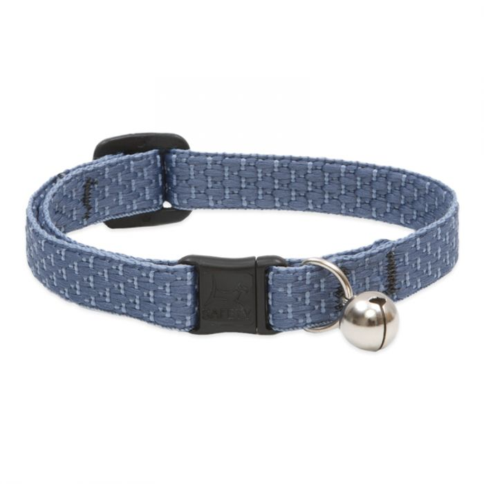 Lupine Eco Cat Collar w/Bell, Mountain Lake
