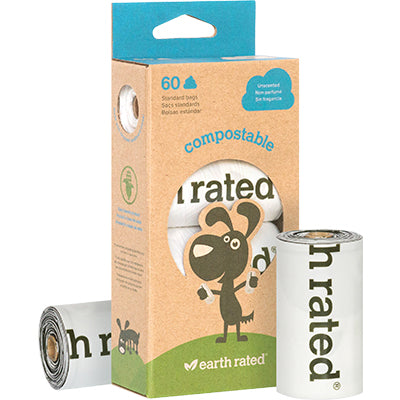 Earth Rated Compost Poop Bags