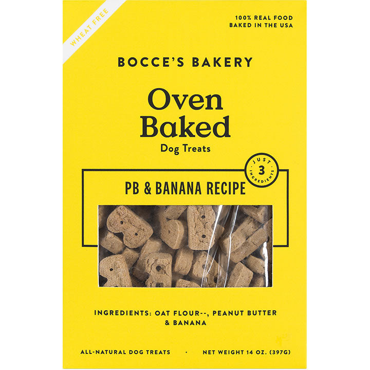 Bocce's Bakery Peanut Butter and Banana
