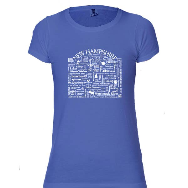 The Buffalo Works New Hampshire Destination Tee