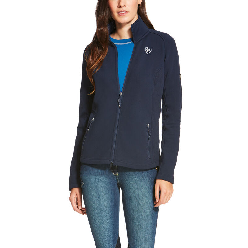 Ariat Lux Full Zip Navy