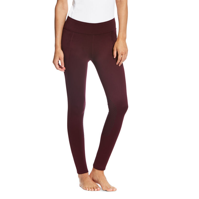 Ariat Women's Diana Insulated Knee Patch Tight Malbec