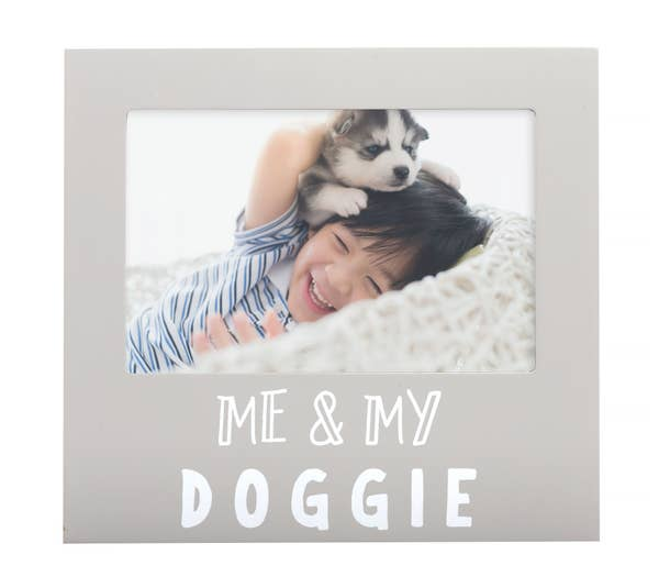 Pairhead Me and My Doggie Sentiment Frame
