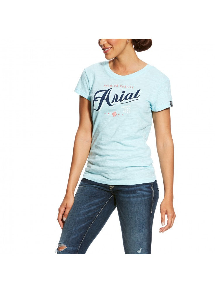 Ariat Womens Logo Short-Sleeve Tee