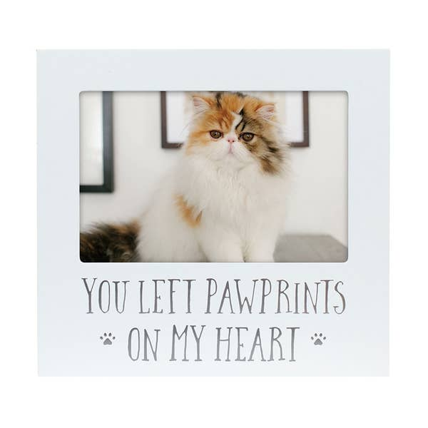 Pearhead Pawprints on My Heart Sentiment Frame