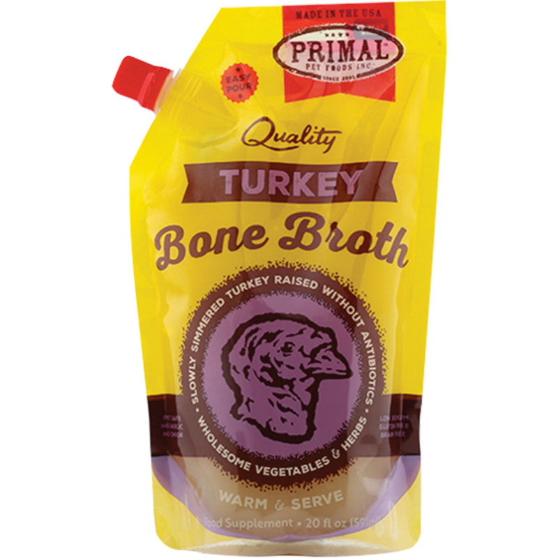 Primal Frozen Turkey Bone Broth
