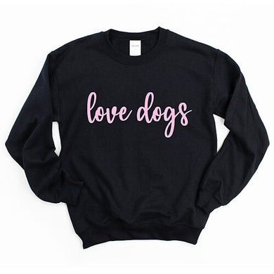 Dapper Dexter Love Dogs Crewneck