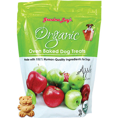 Grandma Lucy's Baked Organic Apple Treats