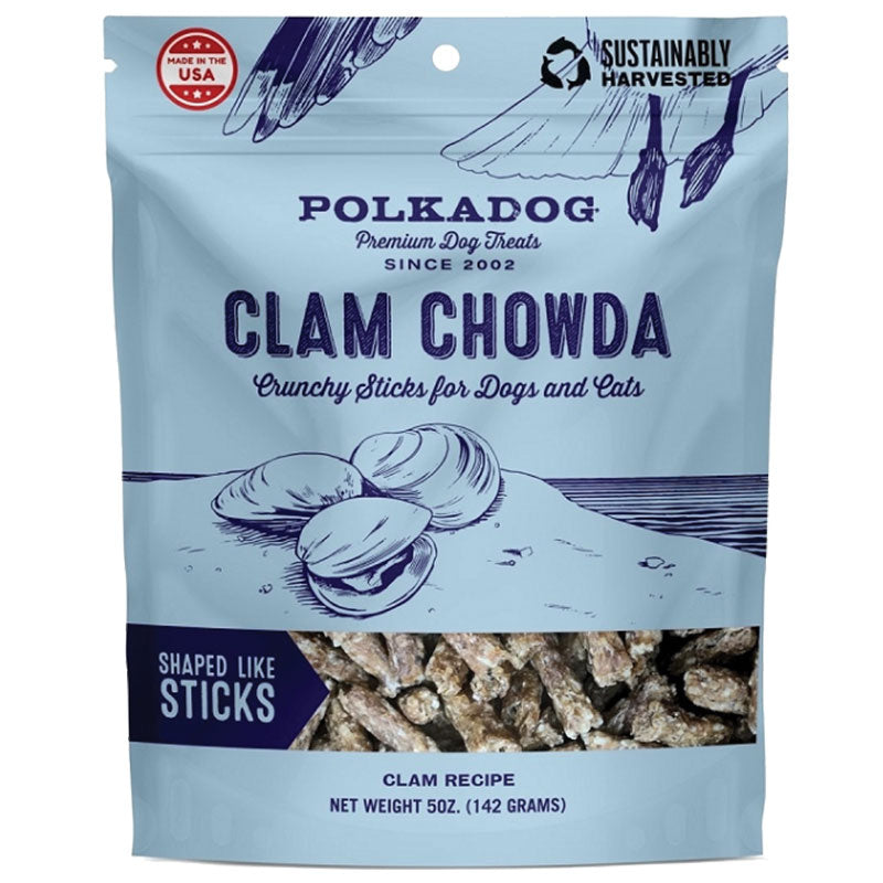 Polka Dog Clam Chowda