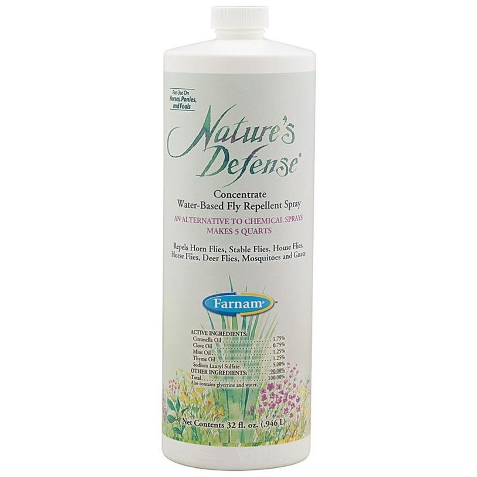 Nature's Defense Fly Repellent Concentrate