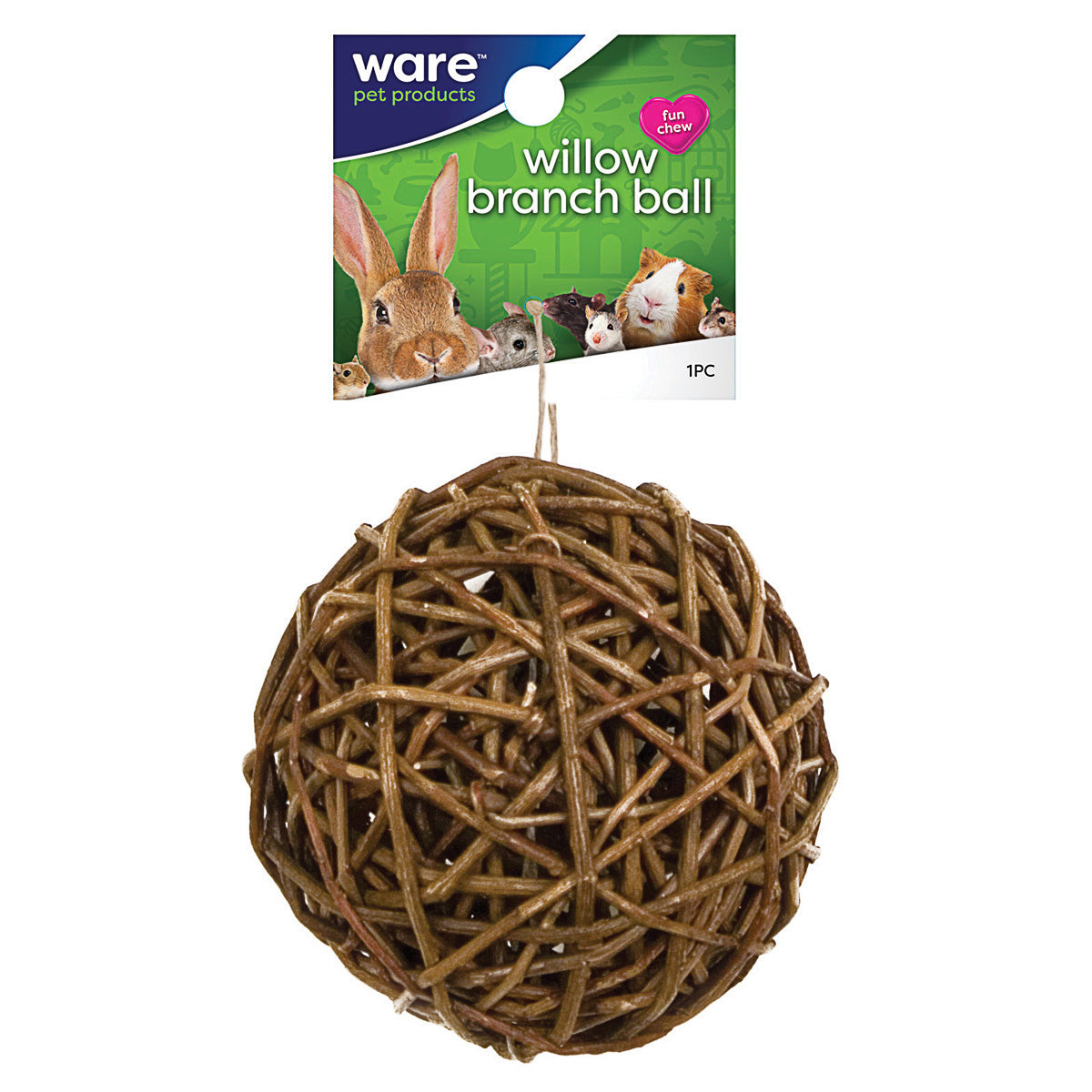 Ware Willow Branch Ball 4""