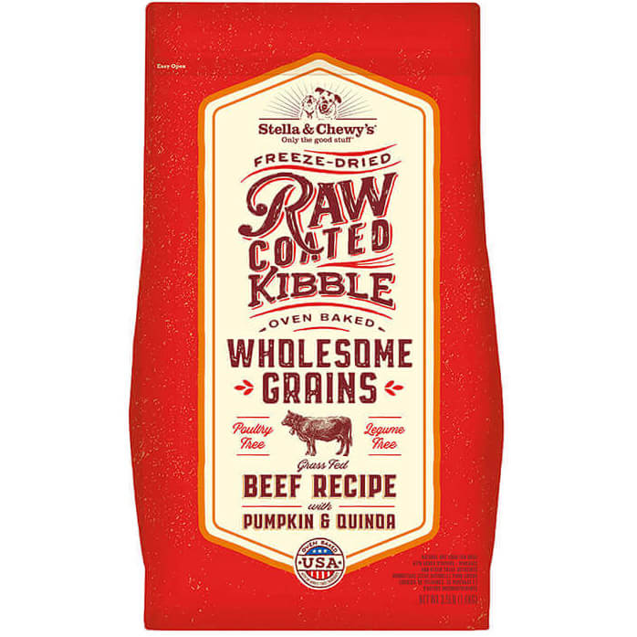Stella & Chewy's Raw Coated Wholesome Grains Beef