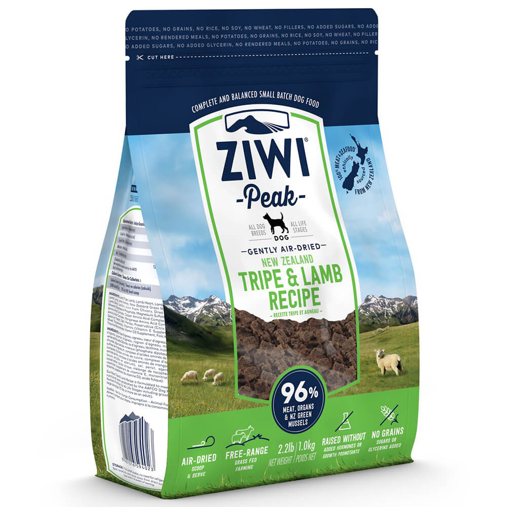 The Wholistic Pet Ziwi Peak Tripe & Lamb