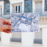 Carte postale de Beaubourg à Paris
