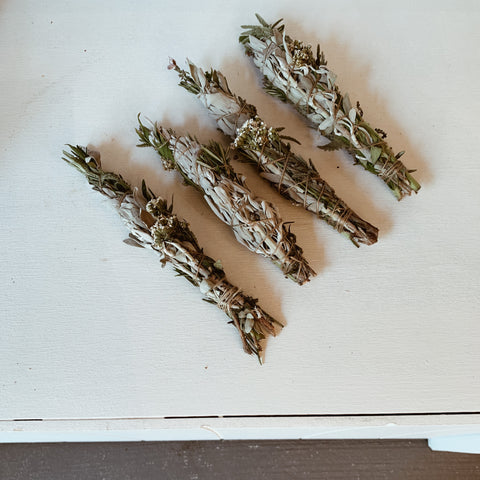 Herb Garden Smudge Wand