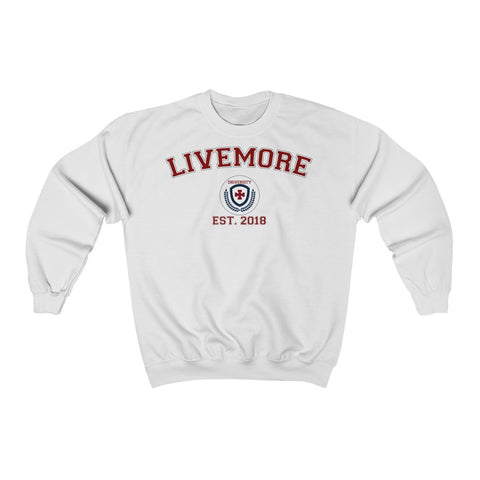 Live More University Unisex Heavy Blend™ Crewneck Sweatshirt