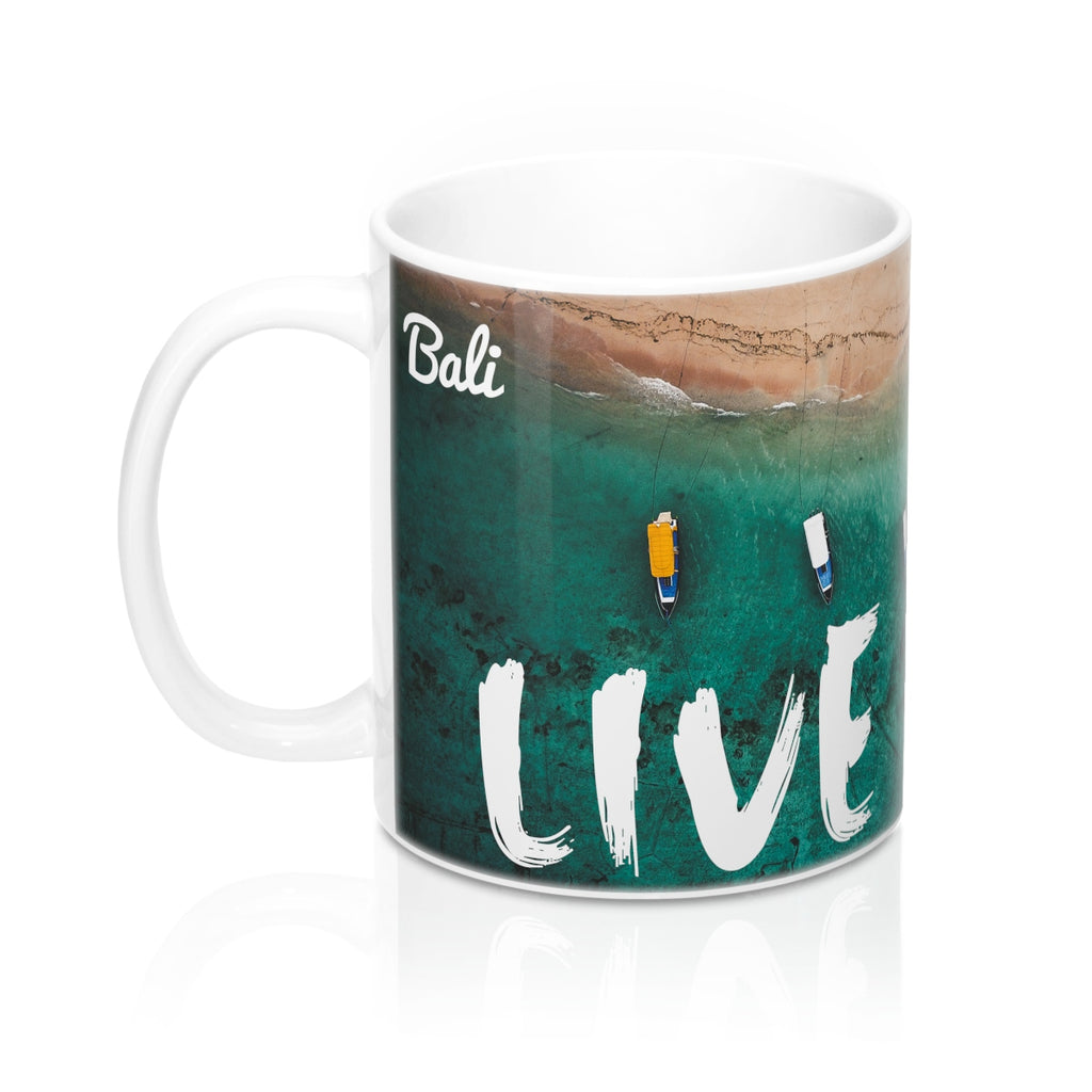 Live More Bali Mug 11oz - Live More