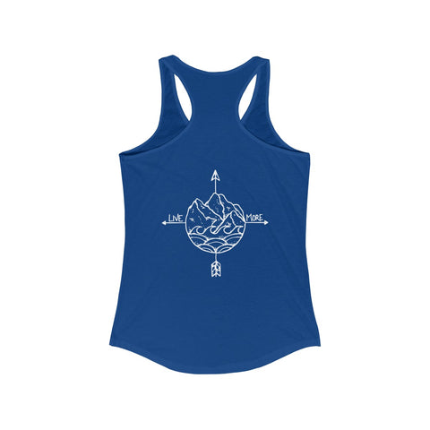 Live More Compass Women's Ideal Racerback Tank