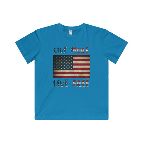 American Live More Kids Fine Jersey Tee