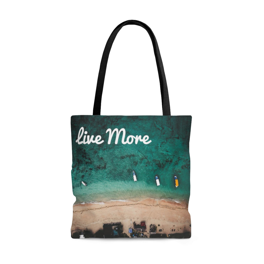 Live More Bali Tote Bag - Live More