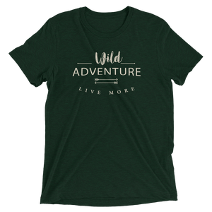 Live More Wild Adventure Short sleeve t-shirt - Live More