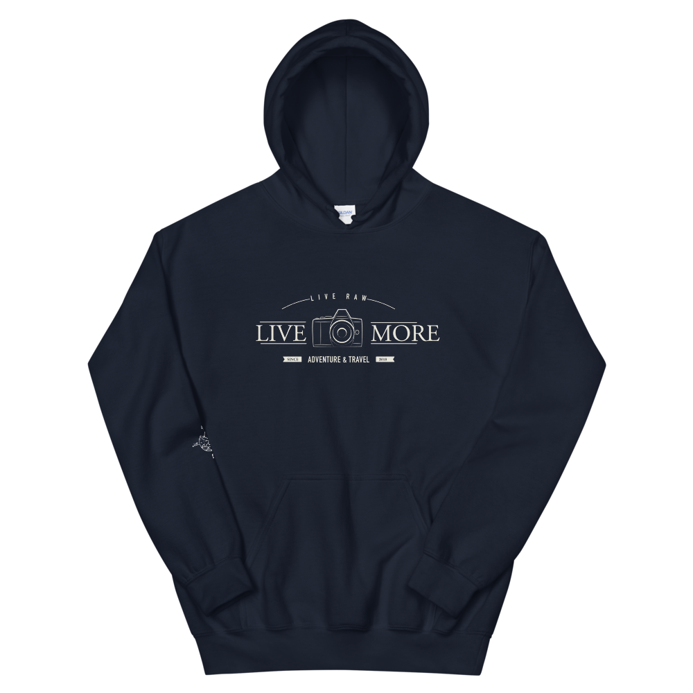 Live More Photography Unisex Hoodie - Live More