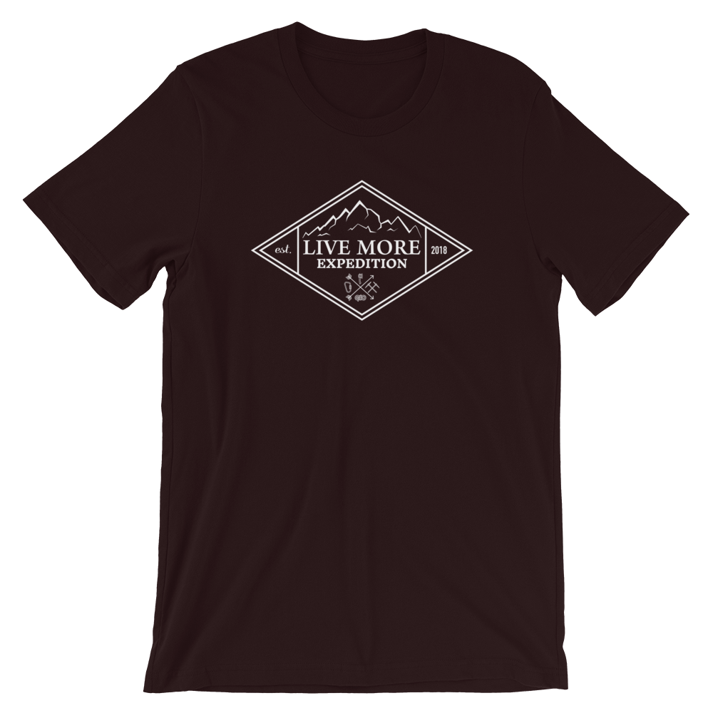 Live More Expedition Short-Sleeve Unisex T-Shirt - Live More
