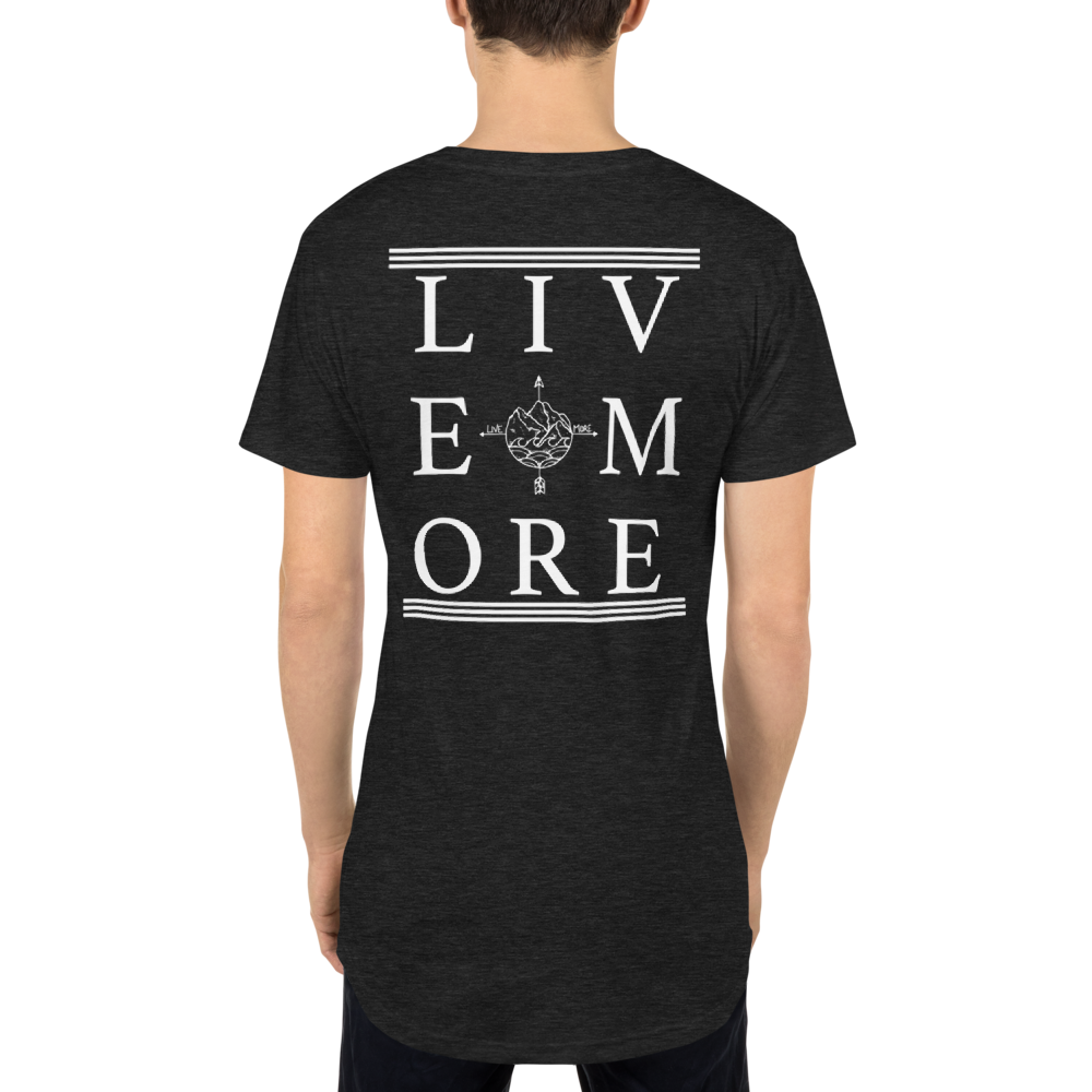Live More Long Body Urban Tee - Live More