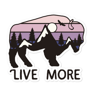 Live More Moab Stickers