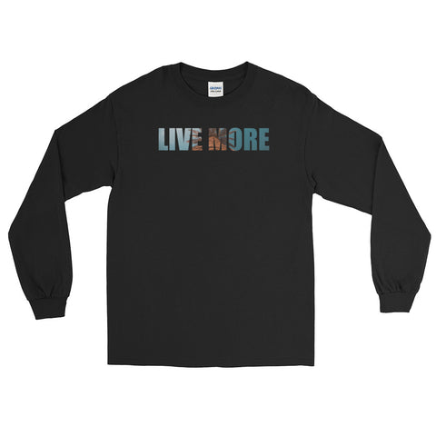Live More Palms Long Sleeve T-Shirt