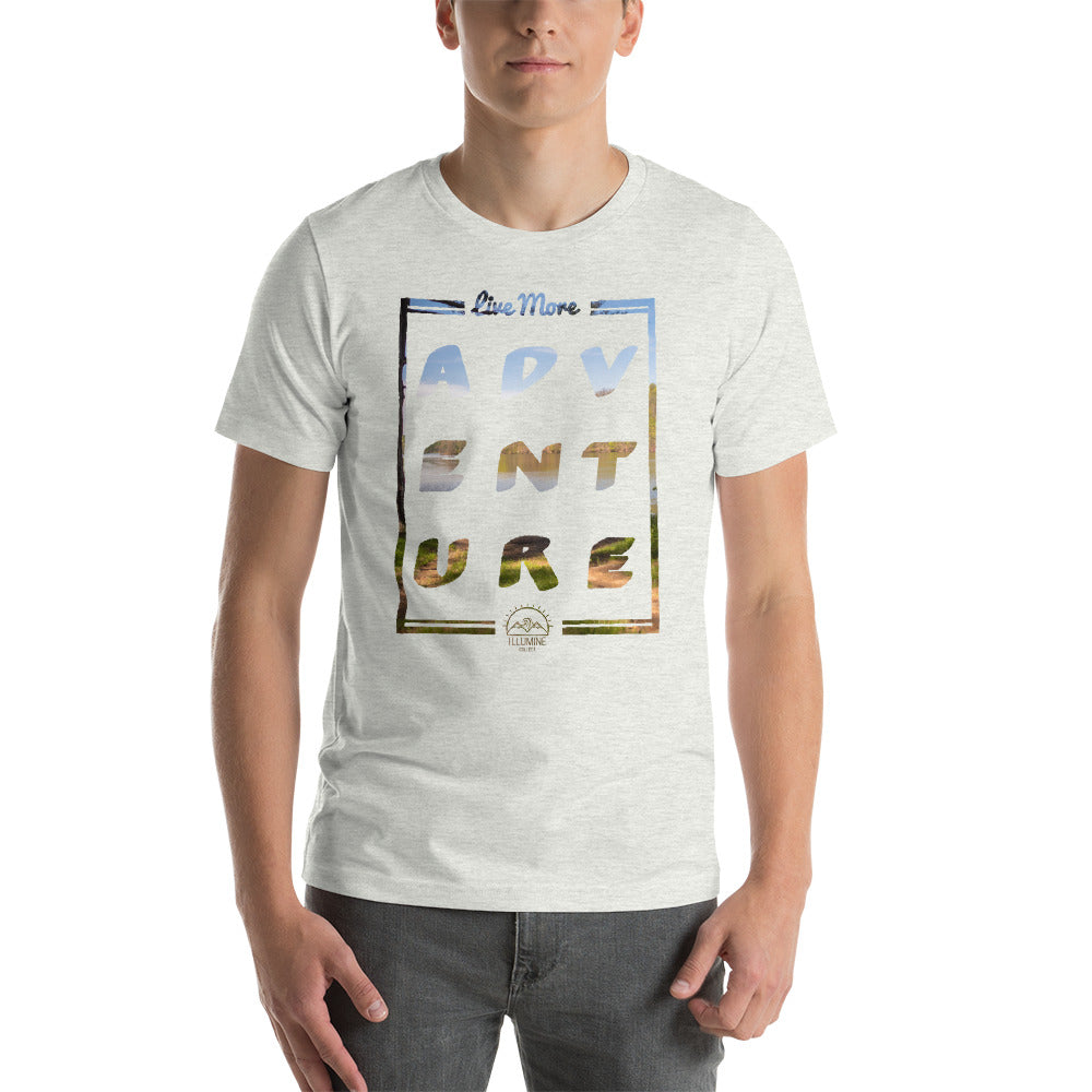 Live More Illumine Collect Adventure Short-Sleeve Unisex T-Shirt - Live More