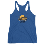 Live More Beach Vibes Women's Racerback Tank - Live More