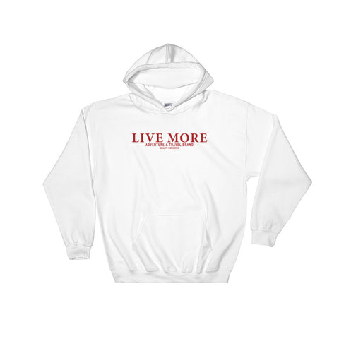 Live More Adventure Brand Hoodie