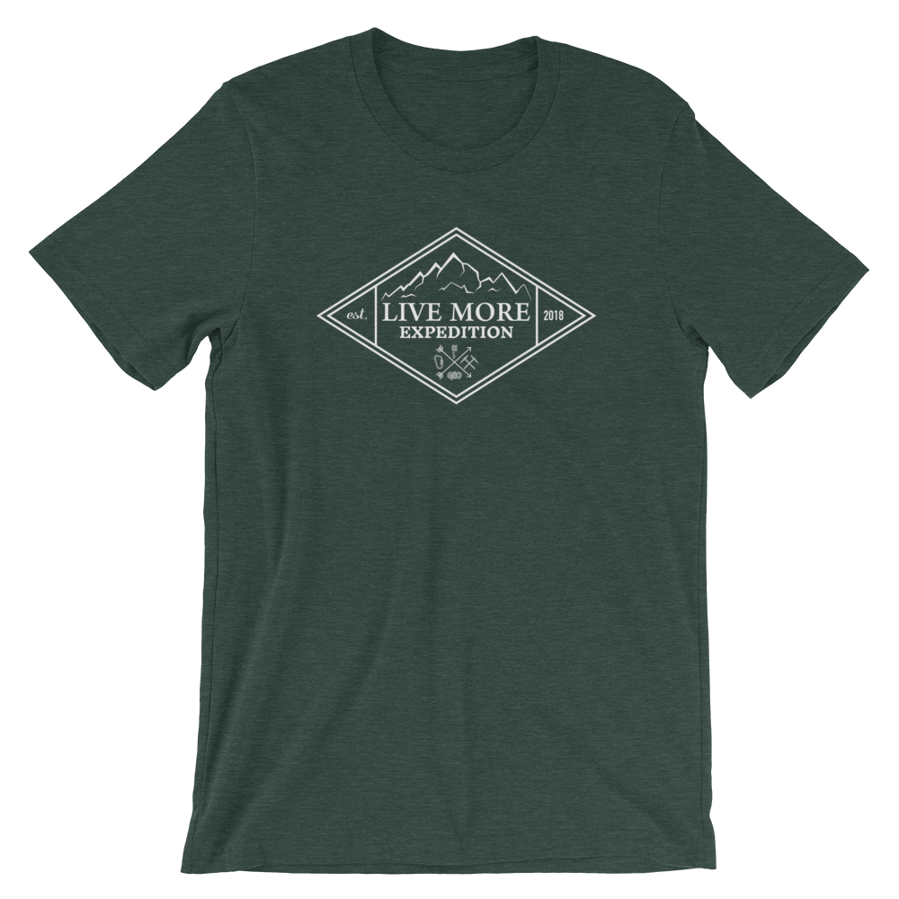 Live More Expedition Short-Sleeve Unisex T-Shirt