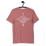 Live More Compass Short-Sleeve Unisex T-Shirt - Live More