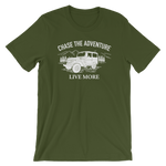 Chase The Adventure Short-Sleeve Unisex Tee - Live More