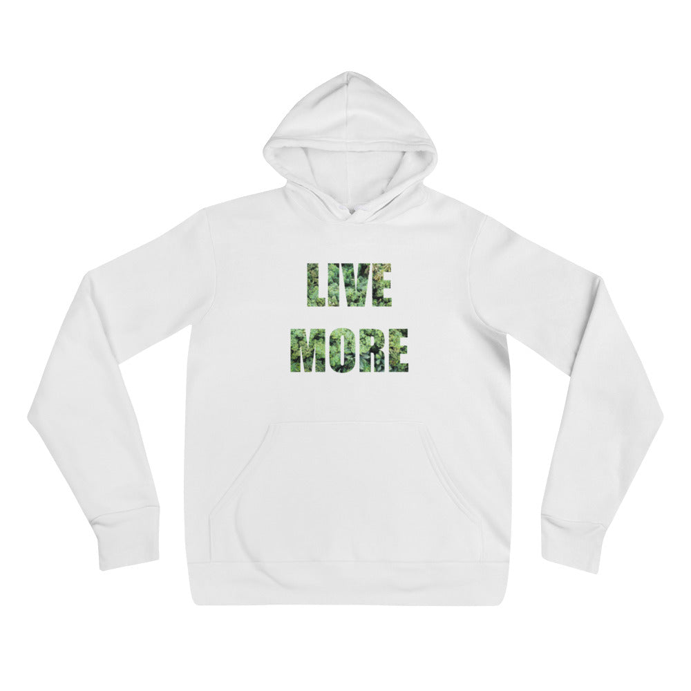 Welcome to the Jungle Unisex Fleece Hoodie - Live More