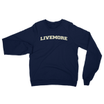 Live More College Unisex California Fleece Raglan Sweatshirt - Live More