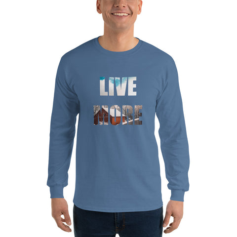 Unisex Live More Winter Long Sleeve T-Shirt