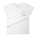 Womens Palms & Planes Embroidered Tee - Live More