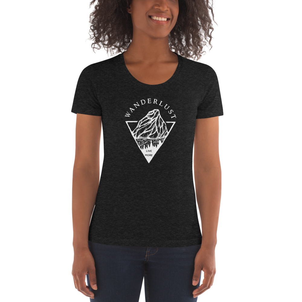 Wanderlust Women's Crew Neck T-shirt