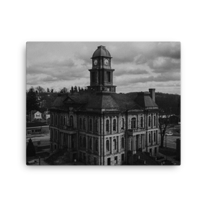 Millersburg Court House Canvas - Live More