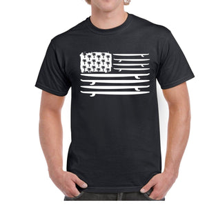 Surf American Flag Shirt - Live More