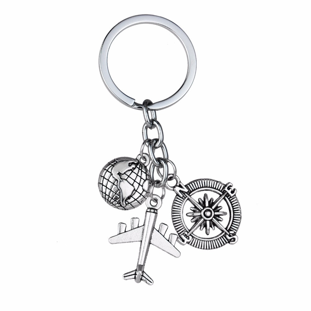 International Travel Keychain - Live More