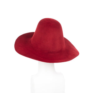 Millinery Supplies UK Cardinal Velour Peachbloom Flare