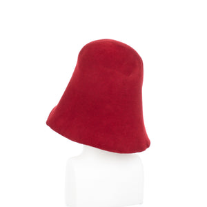 Millinery Supplies UK Cardinal Velour Peachbloom Hood