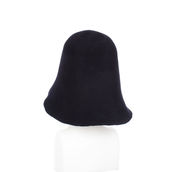 Millinery Supplies UK Midnight Velour Peachbloom Hood